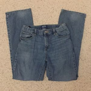 Boy's bootcut jeans, size 16.